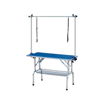 High quality folding steel legs pet grooming table