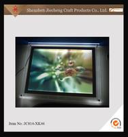 2015 new style acrylic photo frame with led light