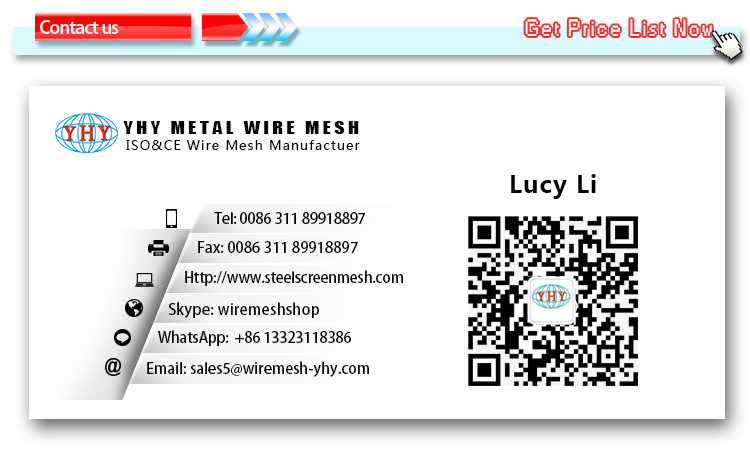 0.5mm-100mm Hole 65Mn Carbon Steel Wire Mesh Vibrating Screen