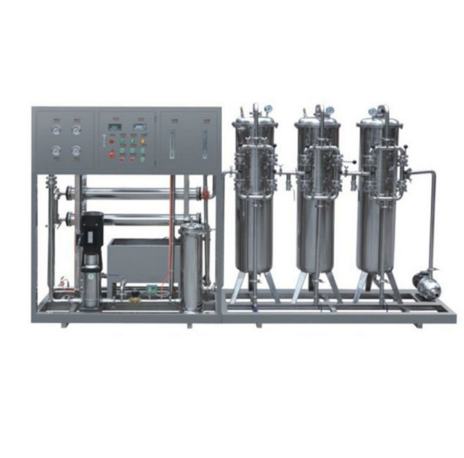 FRP UV Sterilizer RO Reverse Osmosis Water Treatment plant for Purified water