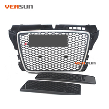 Auto paraurti grille per <span class=keywords><strong>audi</strong></span> <span class=keywords><strong>A3</strong></span> RS3 griglia anteriore RS3 <span class=keywords><strong>8</strong></span> <span class=keywords><strong>p</strong></span> 2008 2012