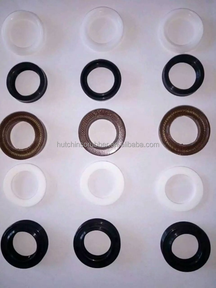 OEM top quality V type waterproof cloth insertion water pump oil rubber seal kits