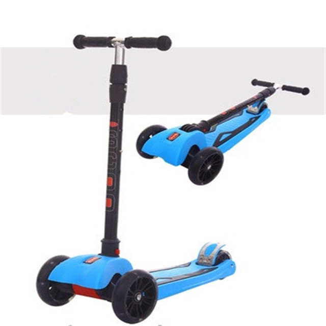 Alibaba Factory Price Baby Toys Kid Scooter 4 Wheel Skate Scooters