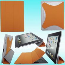 Magnetic Leather Case for iPad 2