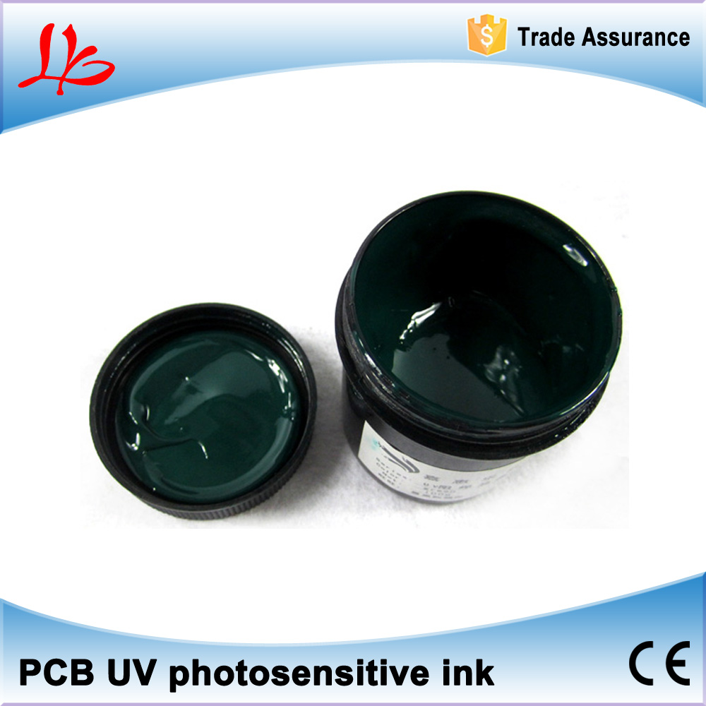 PCB UV photosensitive inks, Green PCB UV curable solder resist ink,solder mask UV ink