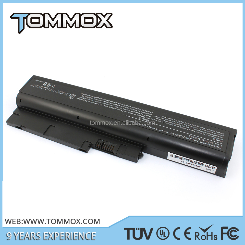 High quality lithium charger for rechargeable for IBM Z60M 4400mah 10.8v 6cells