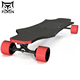 Foxen carbon fiber 1000w remote control electric longboard, high quality electric skate board, fiberglass long skateboard