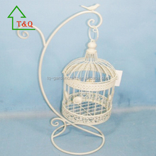 cheap wholesale decorative macaw bird cage in white
