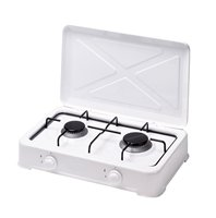 TWO BURNER TABLE TOP GAS COOKER