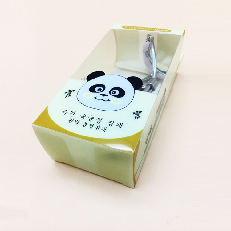 Factory customized clear cosmetic printed plastic packaging box with logo