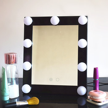 Vanity Lighted Hollywood Makeup Mirrors With Dimmer Stage Beauty
