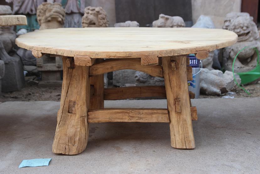 Tavoli Da Pranzo Antichi.Mobili Antichi Soggiorno Tavolo Da Pranzo Rotondo In Legno In Stile