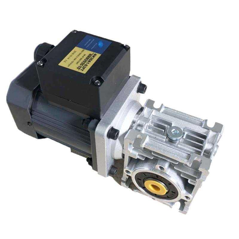 compact size ac worm gear motor