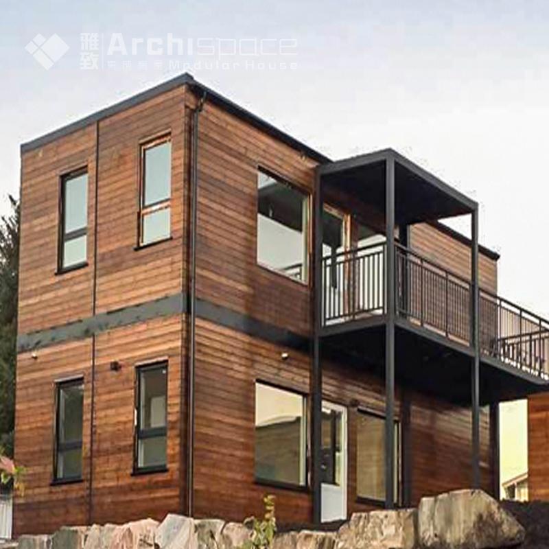 houten huis met container thuis prefab huizen product id. Black Bedroom Furniture Sets. Home Design Ideas