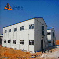 Prefab Steel Structure House Labour Camp Accommodation Qatar