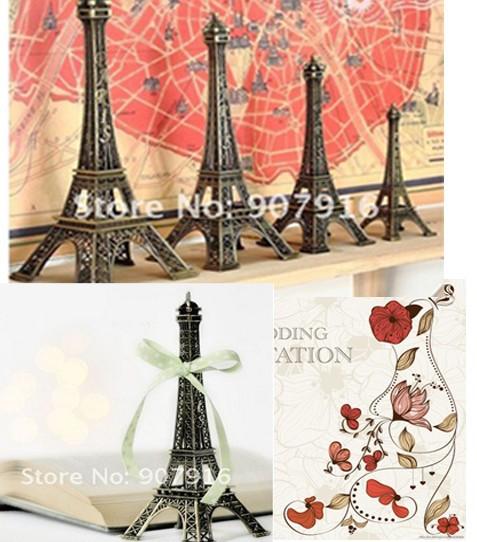 high 13cm metal craft arts 3D Eiffel Tower model French france souvenir paris home decoration gift desk office wholesale