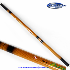 Bamboo 3.0m cheap low price fiber glass bamboo blank tele pole fishing rod