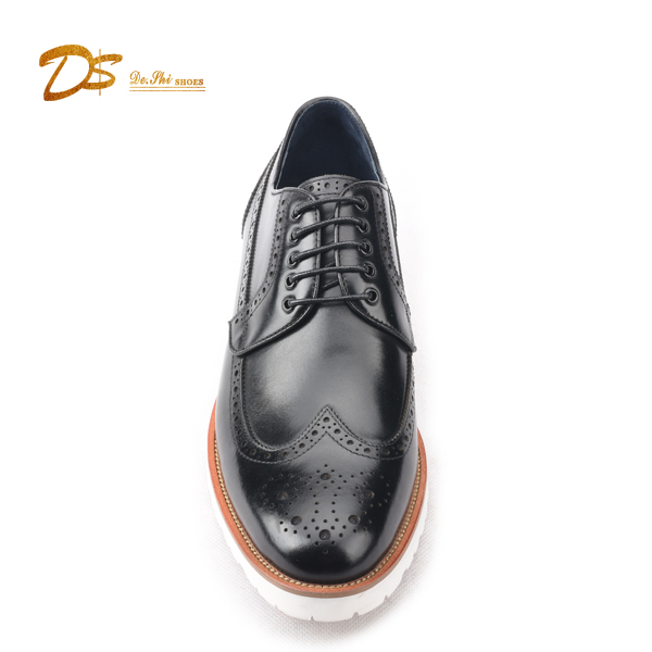 Latest shoes lace new casual fashion nice Spring up design man leather popular AA6wrgRnq