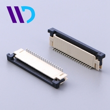 WENDA hot sale 1.0mm pitch zif ffc fpc vertical connector
