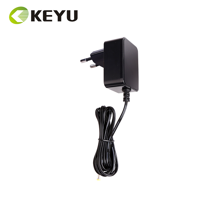 6W black 100-240v ac Power Adapter 5V1.2A EU Plug 5V wall adaptor CE approved