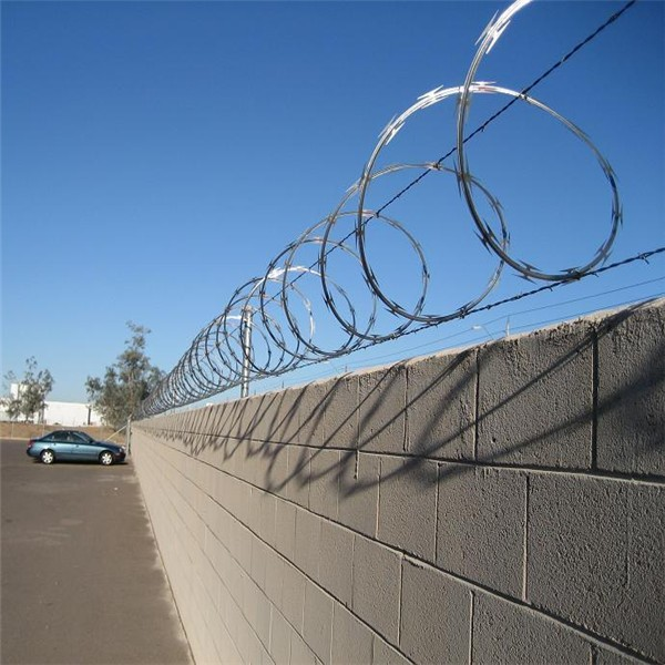 Razor Barbed Wire Concertina Barbed Wire Roll Price Fence