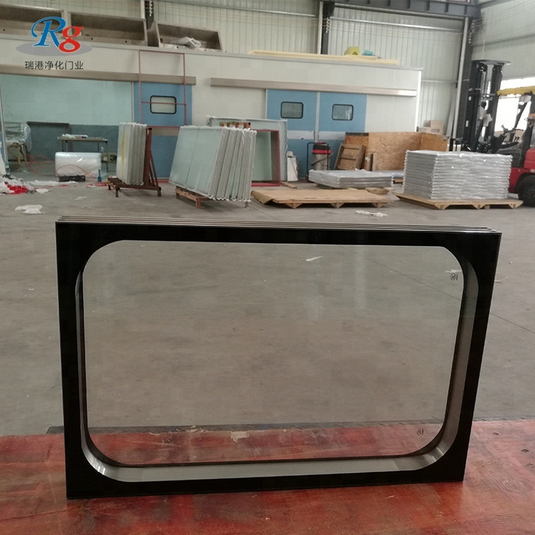 high quality soundproof hospital aluminium fixed panel window