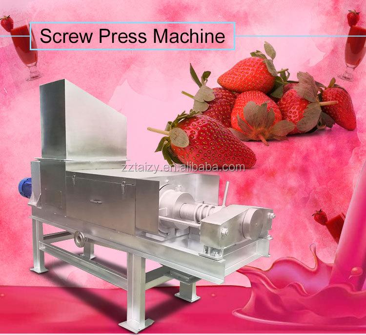 Arancione succo di prezzo della macchina di succo di zenzero macchina di estrazione di succo di mela che fa la macchina