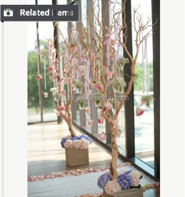 Populaire de mariage centres de table de mariage arbre - Ramas de arbol para decoracion ...