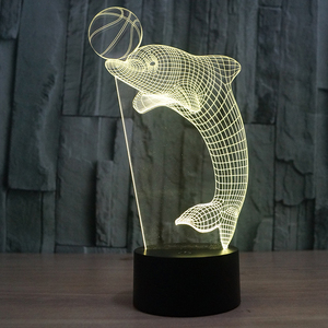 FS-2857 3D Effect Holiday decorative LED cool shaping lamp
