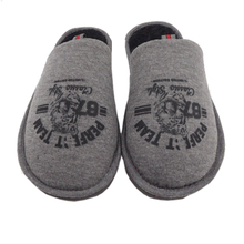 Men'S Quilted Down Puffy Warm Winter Indoor Slippers