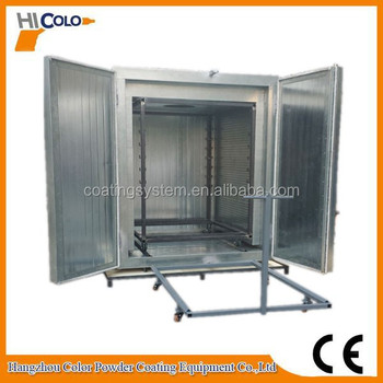Used powder coating equipment for sale spray paint curing for Paint curing oven