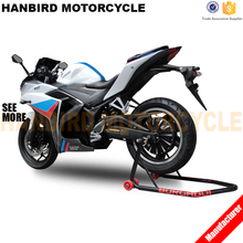Chinese Good Sale R3 Electric Racing Motorcycle with 72v Motor