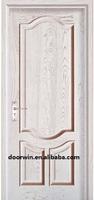 simple exterior carved pine wood veneer main door design entry door