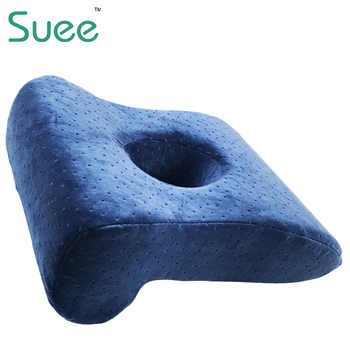 office nap pillow. Memory Foam Office Nap Pillow Students Lunch Break Sleep Travel With Hole For Various