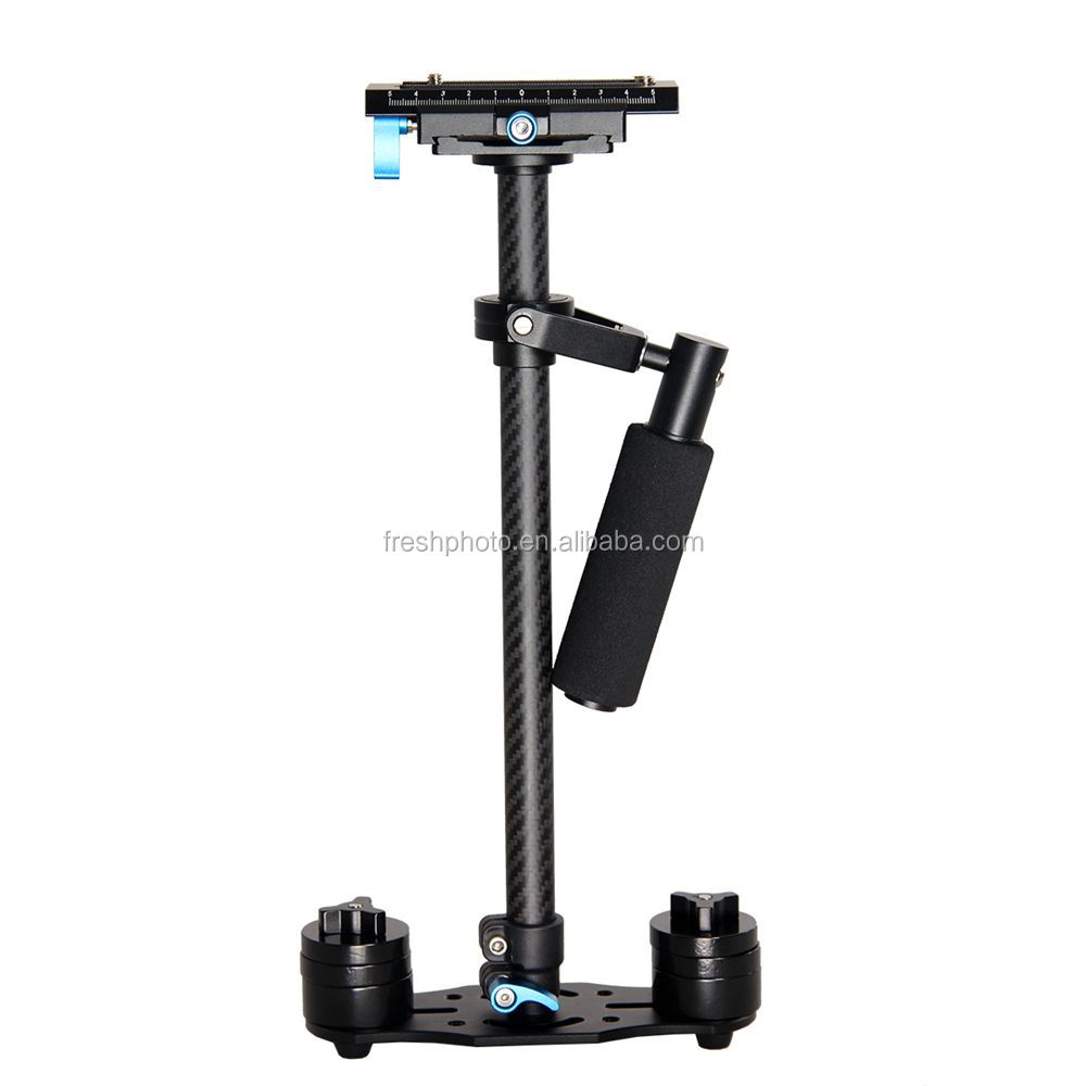 factory direct best stability 60cm carbon fiber handheld gyro gimbal stabilizer for dslr universal video cameras