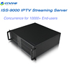 (ISS-9000) DTVANE WAN Residence IPTV Solution Distributing the streamings to 10000 users IPTV Steaming Server