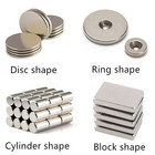 Custom shape NdFeB rare earth sintered permanent n35 - n52 neodymium magnets