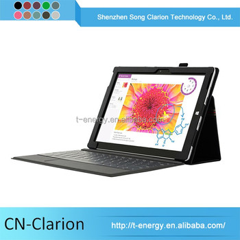 2015 Promotion Fancy Protective Case 10.1 Tablet Leather Case With Keyboard