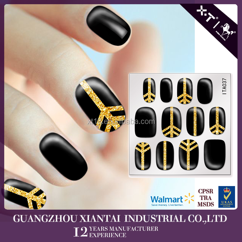 2015 Colourful Korean Fashion Gel Nail Art Supplier Nail Wraps Nail ...