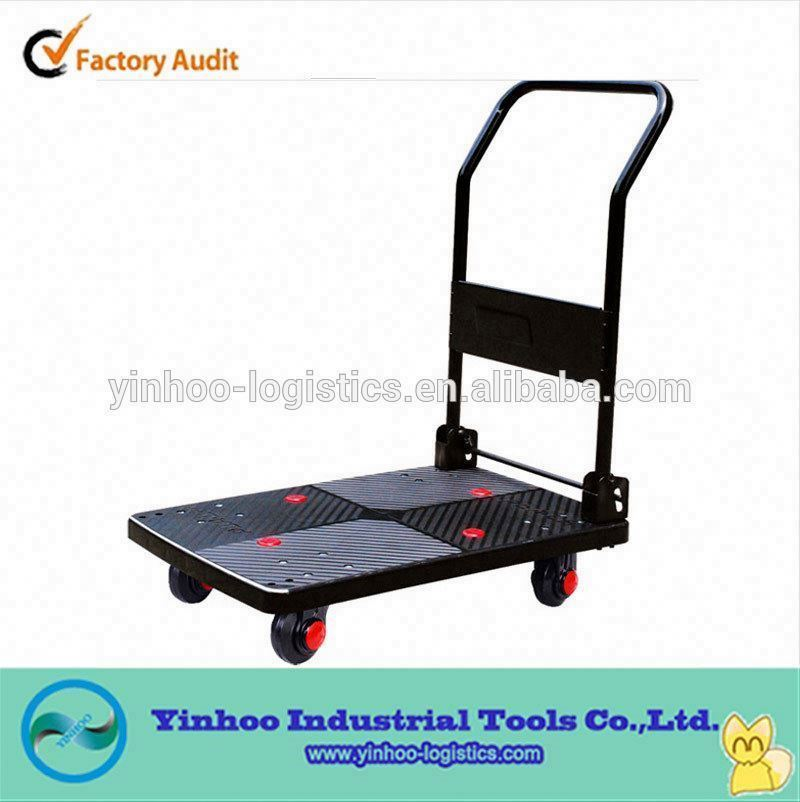 hand pull stackable plastic trolley/dolly for transportatoin
