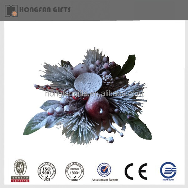 home ornament Xmas decoration artificial fruit