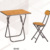 DT-YY003 Wood outdoor furniture and metal folding table leg Folding table