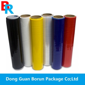 Wholesale factory price stretch film/LDPE handy wrap/pallet stretch wrap film jumbo roll