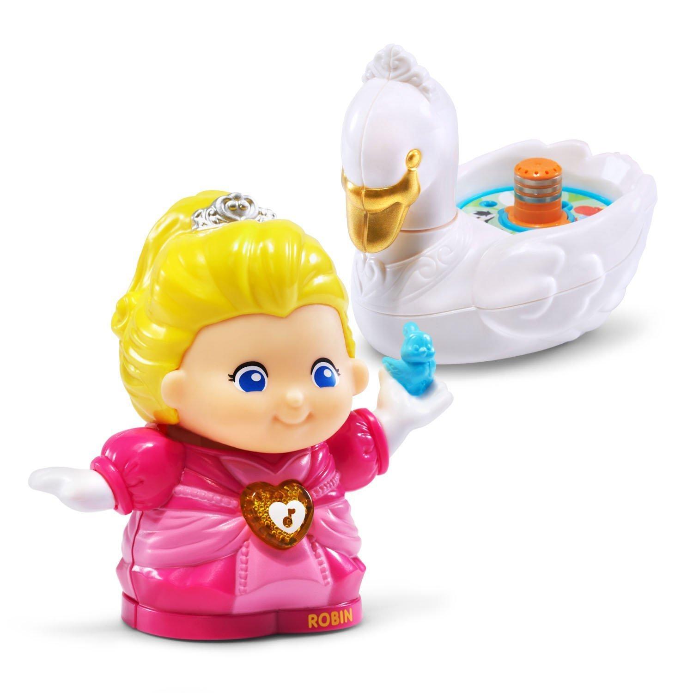 69b93ef0532e42 VTech Go! Go! Smart Friends Princess Robin and her Swan. 15.5. 208 Pieces  Jigsaw Puzzle Go! Princess Precure Glitter ! Mode Elegant Art Crystal