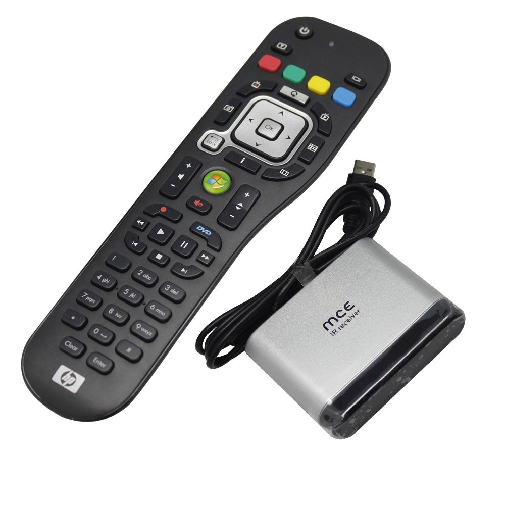 Buy New Hp Oem Windows Media Center Htpc Mce Pc Rc6 Ir Remote Control Receiver Edition Window And Infrared For Windows7