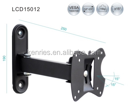 Removable Vesa Plasma Slide Up and Down TV Wall mount and Brackets Mount for TV14~23inch