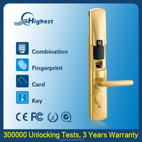 Top High Security Russian SS House Central Door Lock, Battry Operated Security Gate Lock In Guangzhou Recruitment Agency