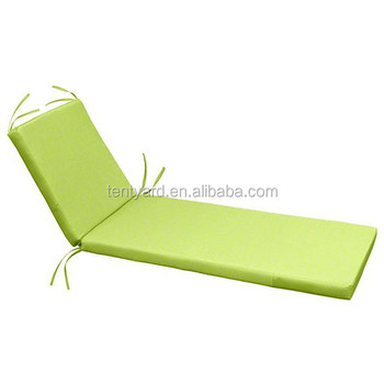 Steamer Beach Chair Folding Sun Lounger Cushion