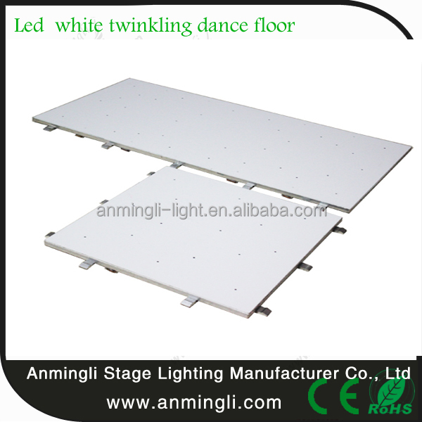 disco Colorful stage lighting portable led brick interactive led dance floor
