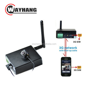 Newest World Universal WCDMA GSM 3G Video Box/DVR 3G Remote camera